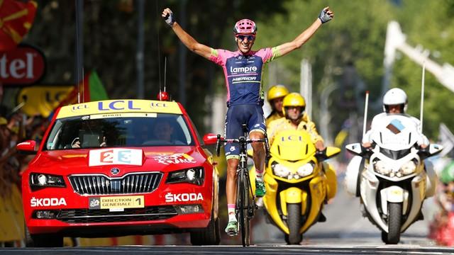 Tour de France: etapowe zwycięstwo Plazy, liderem wciąż Froome