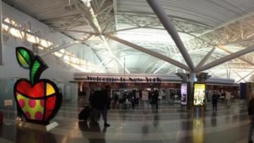 15-08-2016 06:02 Ewakuacja na lotnisku JFK w Nowym Jorku