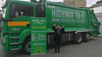 """06-11-2017 14:25 """"Highway to el"""". Pierwsza elektrośmieciarka będzie oczyszczać ulice Oslo"""