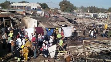 21-12-2016 05:29 26 osób zginęło w wybuchu fajerwerków na targowisku w Meksyku