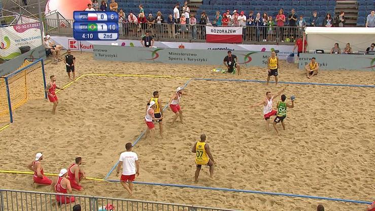 The World Games: Polacy poza podium w piłce ręcznej plażowej