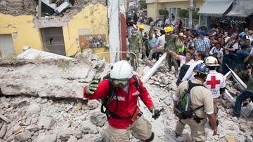 Niemowlę zginęło w czasie własnego chrztu, gdy kościół zawalił się podczas trzęsienia w Meksyku