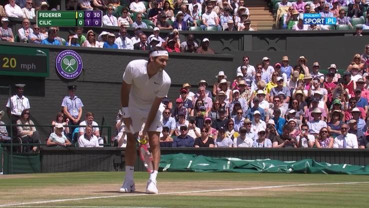 Roger Federer - Marin Cilic 3:2. Skrót meczu