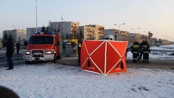 30-01-2017 16:36 Wypadek w Ciechanowie. Auto wjechało w trzyosobową rodzinę