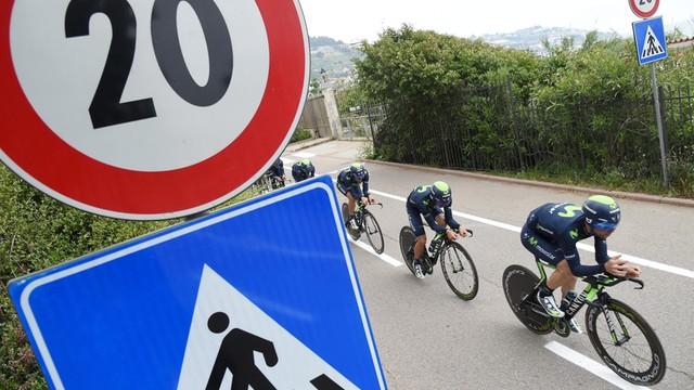 Giro d'Italia: na początek jazda drużynowa na czas