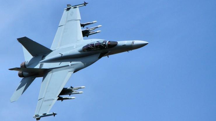 Zderzenie w powietrzu amerykańskich myśliwców