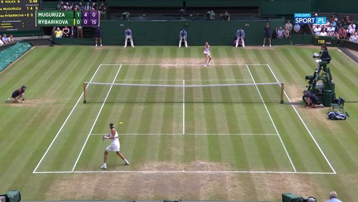 Najładniejsze akcje Wimbledonu - 13.07