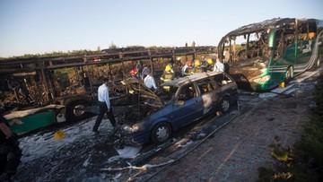19-04-2016 05:06 Wybuch bomby w autobusie w Jerozolimie