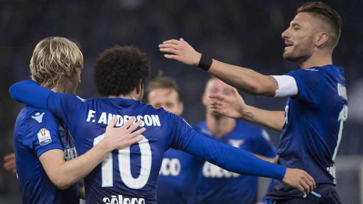 2017-12-14 Puchar Włoch: Lazio górą w meczu pięknych goli