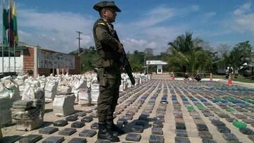 16-05-2016 13:33 Kolumbia: skonfiskowano rekordowe 8 ton kokainy