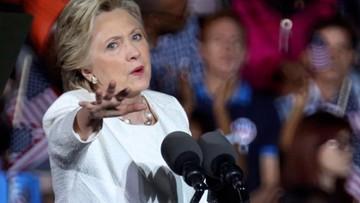 02-11-2016 05:41 Sztab Clinton krytykuje decyzję FBI ws. archiwum Billa Clintona