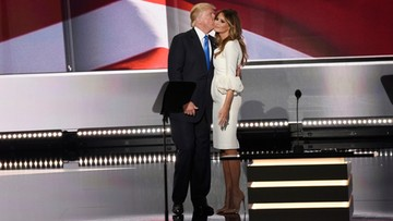 """18-10-2016 05:58 """"Niektóre dawały mu numer telefonu"""". Melania Trump broni męża przed zarzutami molestowania seksualnego"""