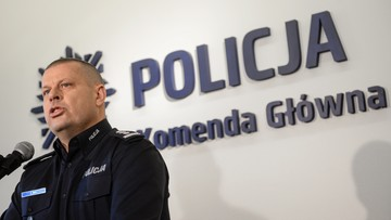 Premier podpisała dymisję insp. Maja ze stanowiska szefa policji