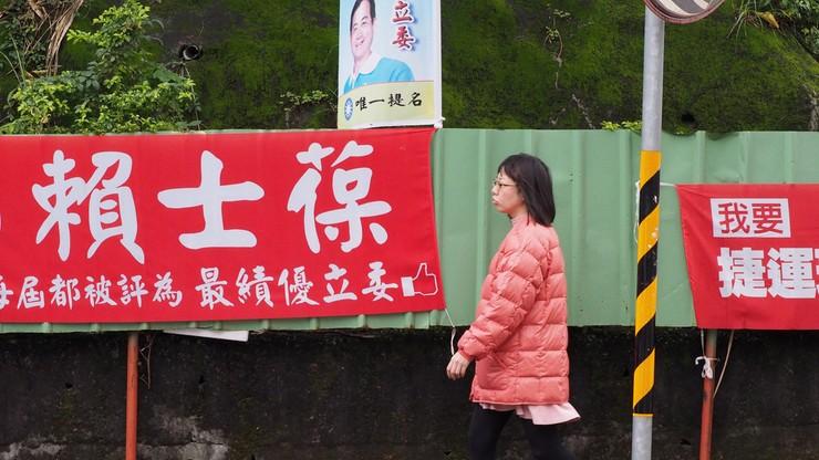 Wybory na Tajwanie. Do władzy może dojść opozycja niechętna Chinom