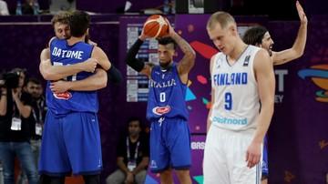 2017-09-09 EuroBasket 2017: Włosi w ćwierćfinale, Finowie pożegnali się z turniejem