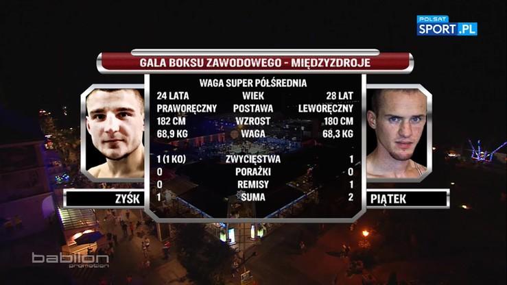 2016-08-20 Przemysław Zyśk - Tomasz Piątek. Skrót walki