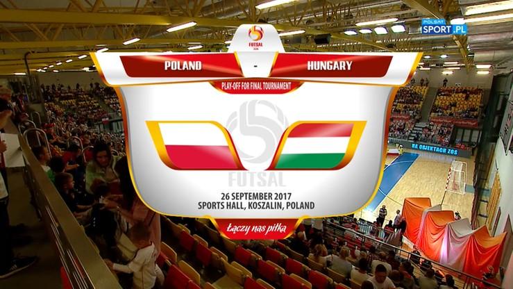 Polska - Węgry 6:4. Skrót meczu