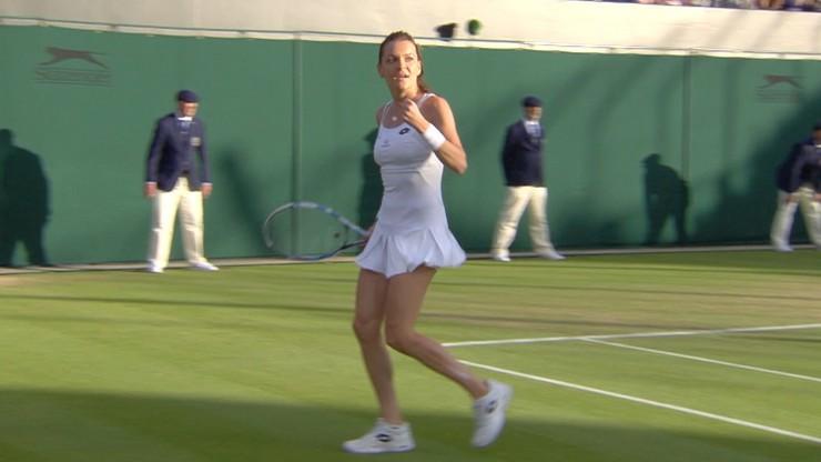 Wimbledon: Spacerek Radwańskiej! Polka w 1/8 finału zagra z Cibulkovą
