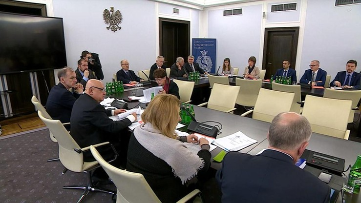Senackie komisje za przyjęciem bez poprawek nowelizacji PiS w sprawie TK