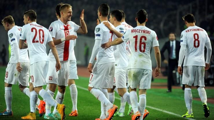 Ponad 7,2 milionów widzów obejrzało 4 bramki Polaków w meczu Gruzja - Polska