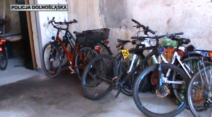 Ukradli rowery warte ponad milion złotych. Podejrzani to niemiecka rodzina i Polak