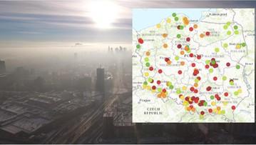 28-01-2017 08:42 Smog nad Polską. Najgorzej jest na Śląsku i w Małopolsce
