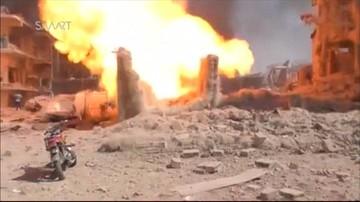 27-07-2016 12:30 Już 44 zabitych w zamachu bombowym w Al-Kamiszli w Syrii