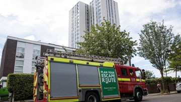 23-06-2017 22:57 Wielka ewakuacja w Londynie. Z powodu obaw o ryzyko pożaru