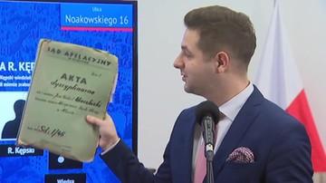 Jaki przedstawił nowe dokumenty ws. Noakowskiego 16
