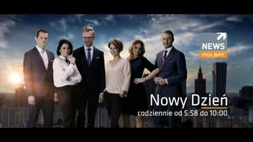 Nowy Dzień z Polsat News. Codziennie od godz. 5:58
