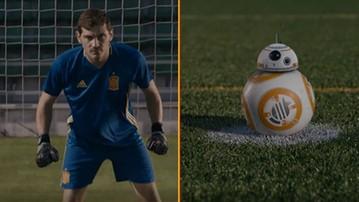 2015-12-01 R2-D2 czy Casillas? Reprezentacja Hiszpanii reklamuje Gwiezdne Wojny (WIDEO)