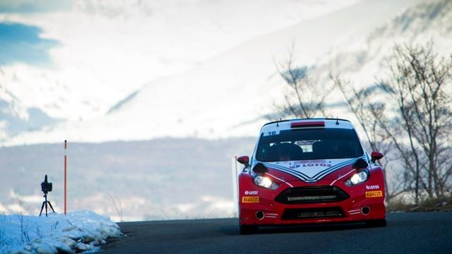 Kubica się nie najeździł - rozbił samochód na 3. odcinku Rajdu Monte Carlo