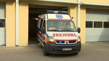 18-05-2017 10:39 Karambol na A2. Cztery osoby zostały ranne. Blokada pasa w stronę Warszawy