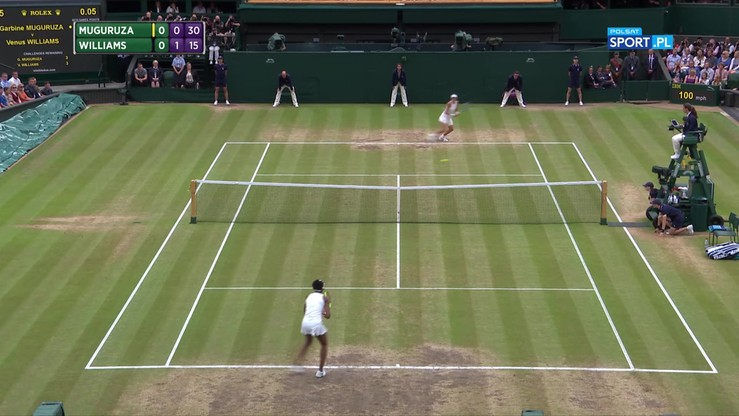 Muguruza - Williams 2:0. Skrót finału Wimbledonu
