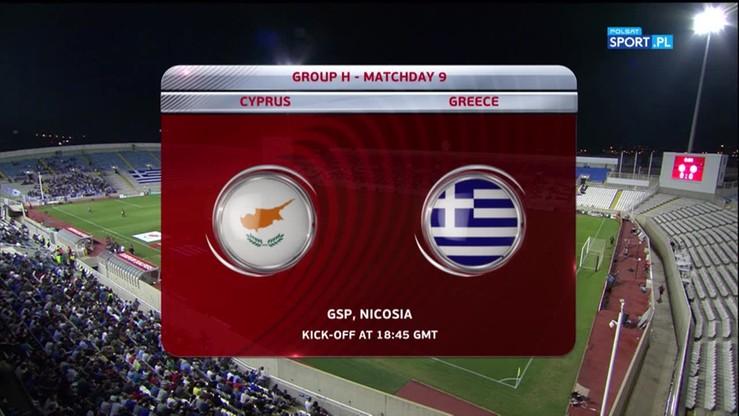 Cypr - Grecja 1:2. Skrót meczu