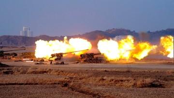 25-04-2017 07:38 Korea Płn. rozpoczęła ćwiczenia wojskowe z ostrą amunicją