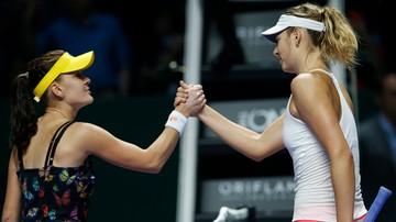 2015-10-25 WTA Finals: Radwańska rozpocznie meczem z Szarapową