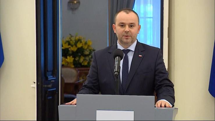"""""""Punktem wyjścia spotkanie z marszałkami Sejmu i Senatu"""". Mucha o referendum konstytucyjnym"""