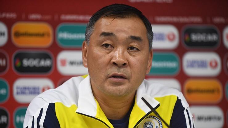 Trener Kazachstanu: Remis nas nie satysfakcjonuje