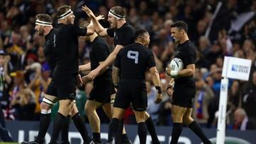 2015-10-17 Puchar Świata w rugby: Nowa Zelandia rywalem RPA w półfinale