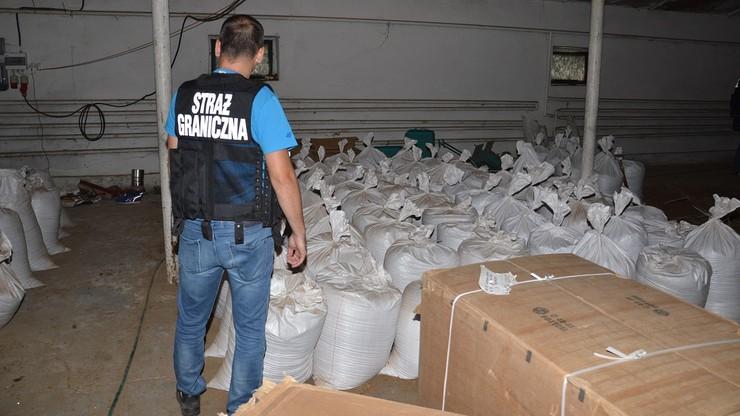 Straż Graniczna zlikwidowała nielegalną krajalnię tytoniu w Lubuskiem
