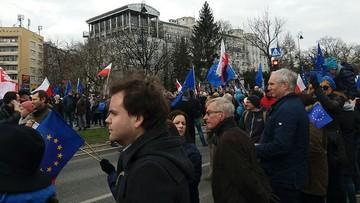 2017-03-25 Kocham Cię, Europo!. Marsz poparcia dla UE w Warszawie