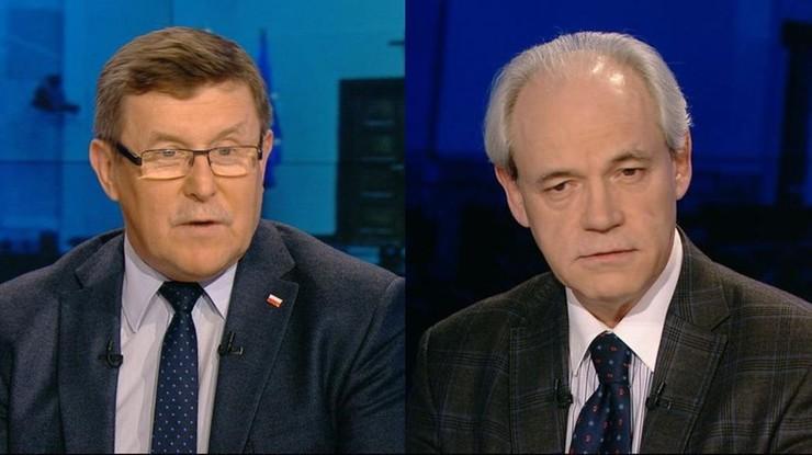 """Nastroje po rozmowach rządu z KE. Zbigniew Kuźmiuk i Adam Szejnfeld w programie """"Gość Wydarzeń"""""""