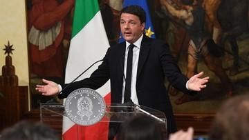 05-12-2016 05:14 Premier Włoch poda się do dymisji