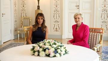 06-07-2017 11:38 Spotkanie pierwszych dam Polski i USA. Najpierw Belweder, później Centrum Nauki Kopernik