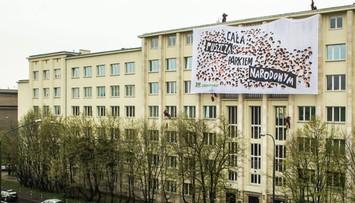 """12-04-2016 10:29 Akcja Greenpeace. """"Cała Puszcza Białowieska parkiem narodowym"""""""