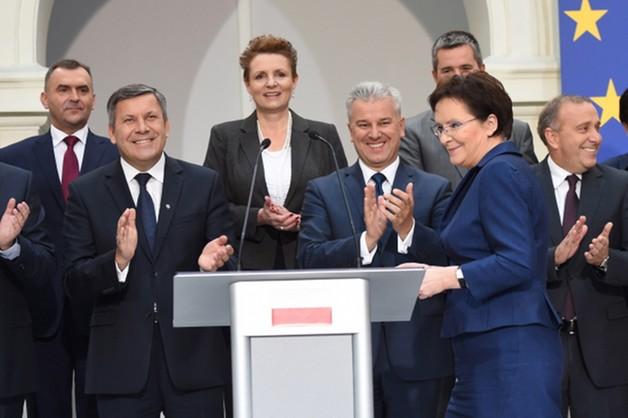 Ewa Kopacz podała skład rządu