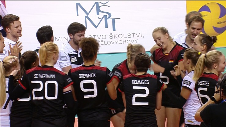 Niemcy trzecią drużyną II dywizji World Grand Prix