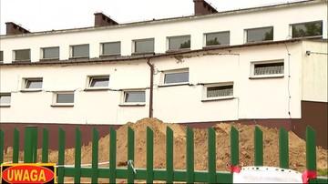 Pękła ściana w szkole w Połchowie