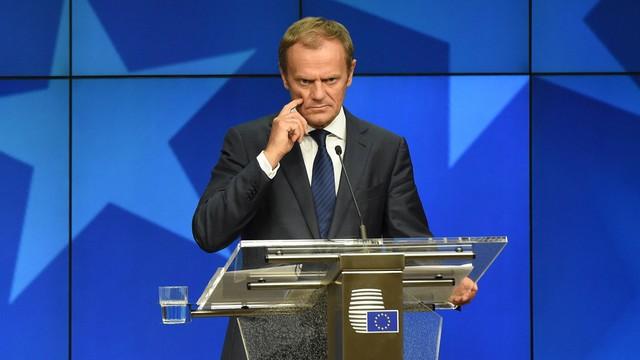 Tusk: na szczycie 27 nikt nie postulował zmian traktatu UE